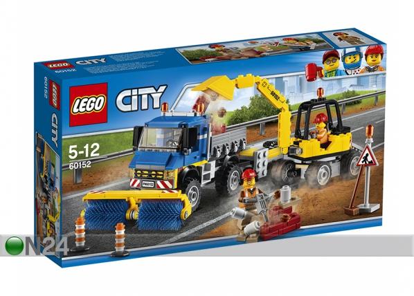 LEGO City TIEPUHDISTUS JA KAIVINKONRE