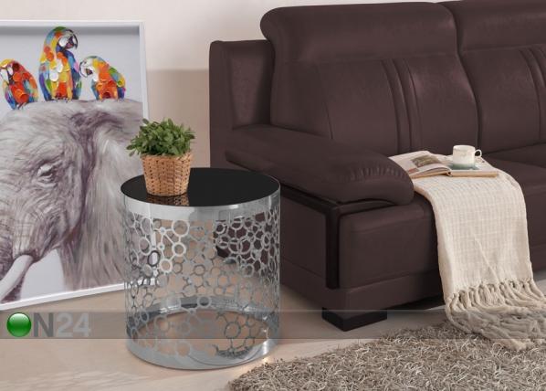 Apupöytä Ø48,3 cm