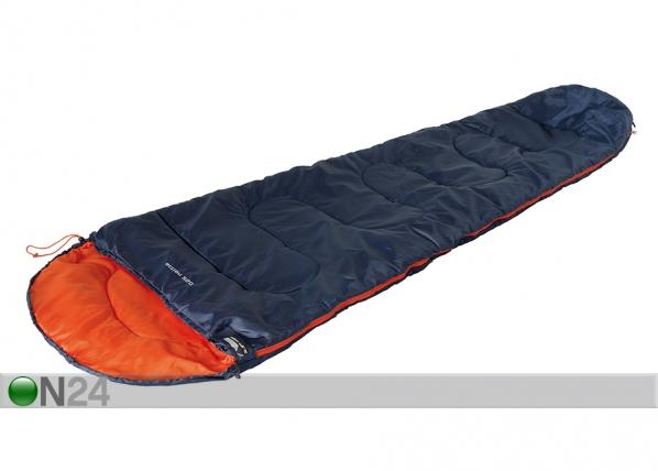 Makuupussi HIGH PEAK ACTION 250 sininen/oranssi