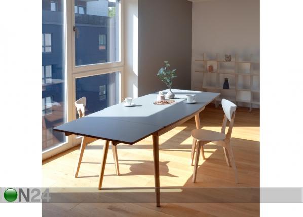 Jatkettava ruokapöytä DINN 140-238x92 cm