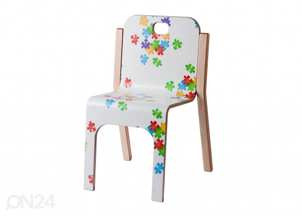 Lasten tuoli TOMMY 2 PUZZLE h 57/31 cm