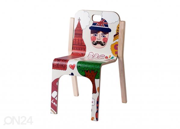 Lasten tuoli TOMMY 3 LONDON h 57/35 cm