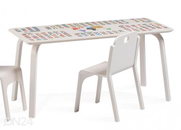Lasten pöytä TOMMY 2 REGIO MAAILMANKARTALLA