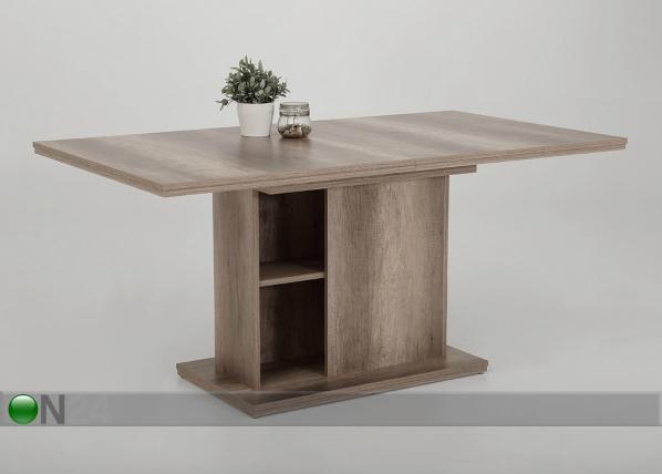 Jatkettava ruokapöytä VIKTORIA 90x160/200 cm
