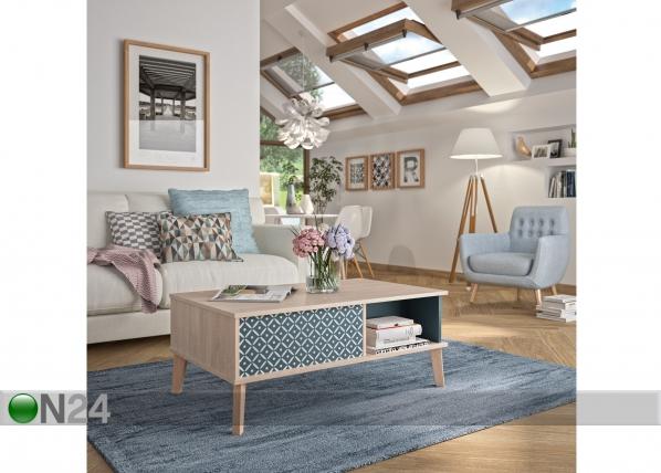 Sohvapöytä BELLA 100x60 cm