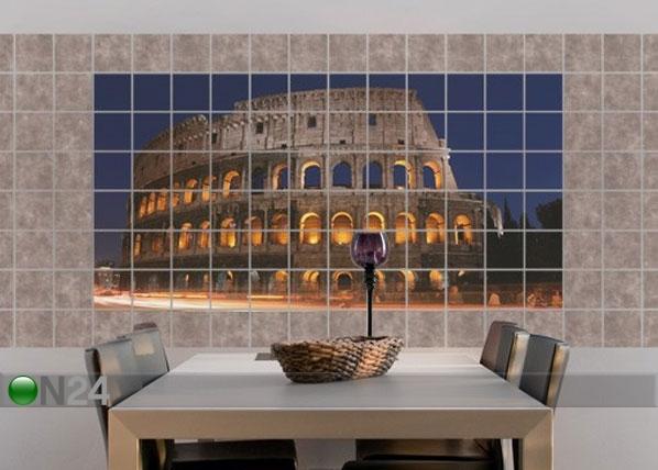 Tarrat seinälaatoille COLOSSEUM IN ROME AT NIGHT 60x120 cm