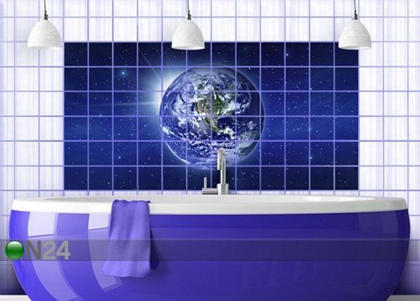 Tarrat seinälaatoille EARTH IN SPACE 60x120 cm