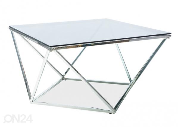 Sohvapöytä SILVER A 80x80 cm