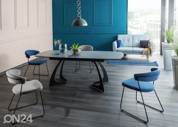 Jatkettava ruokapöytä MARTINEZ 90×160-210 cm