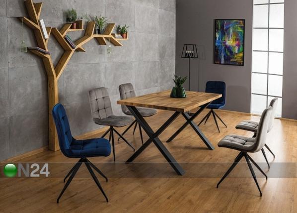 Ruokapöytä XAVIERO 180x90 cm
