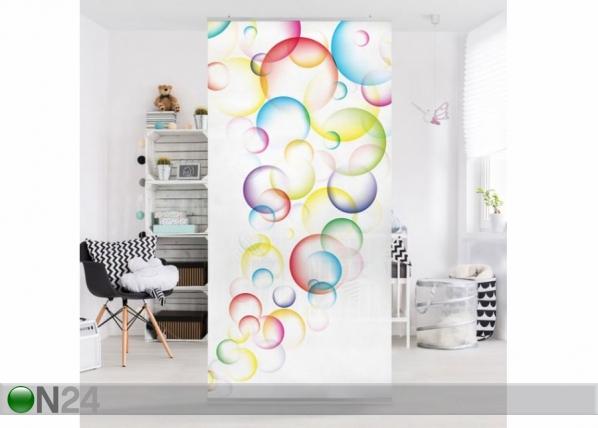 Paneeliverho RAINBOW BUBBLES 250x120 cm