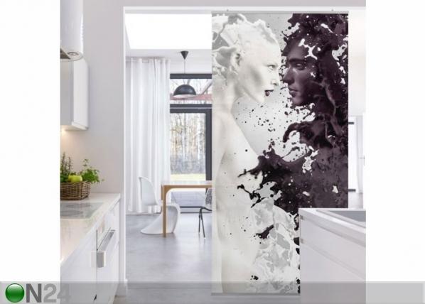 Paneeliverho MILK & COFFEE 250x120 cm