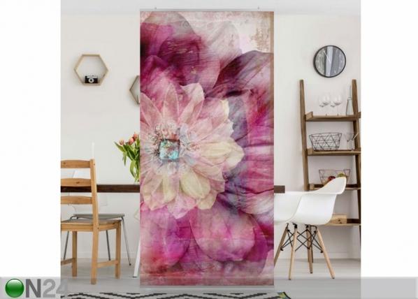 Paneeliverho GRUNGE FLOWER 250x120 cm