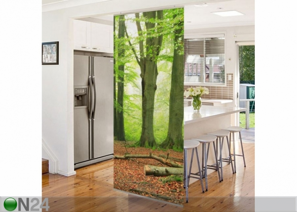 Paneeliverho MIGHTY BEECH TREES 250x120 cm