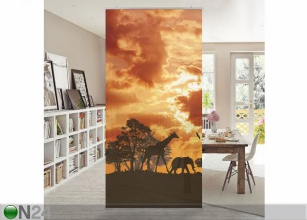 Paneeliverho TANZANIA SUNSET 250×120 cm