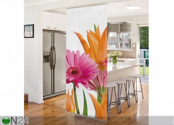 Paneeliverho FLOWER MELODY 250×120 cm