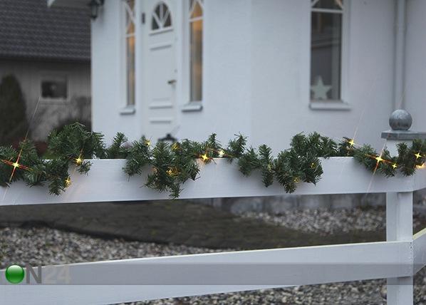 Seppele ALASKA LED valoilla 500 cm