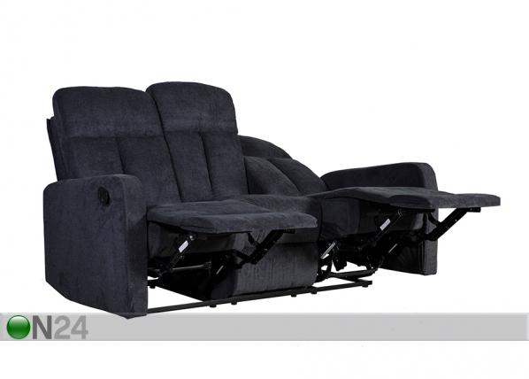 Sohva 3-ist jalkatukimekanismilla FLEXY