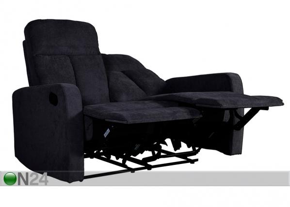 Sohva 2-ist jalkatukimekanismilla FLEXY
