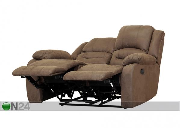 2-ist sohva RELAX2 , vaaleanruskea kangas