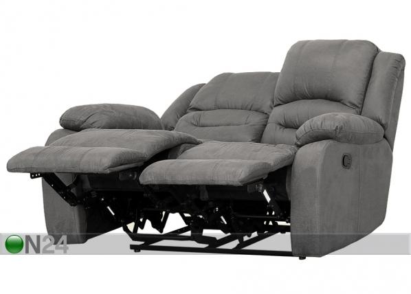 2-istuttava sohva Relax2 harmaa