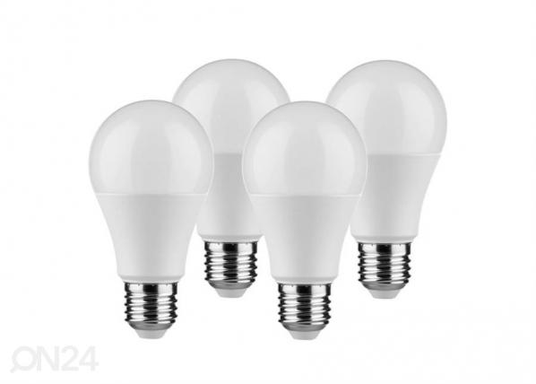LED lamppu E27 9 W 4 kpl