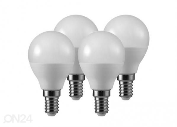 Koristeellinen LED lamppu E14 5,5 W 4 kpl