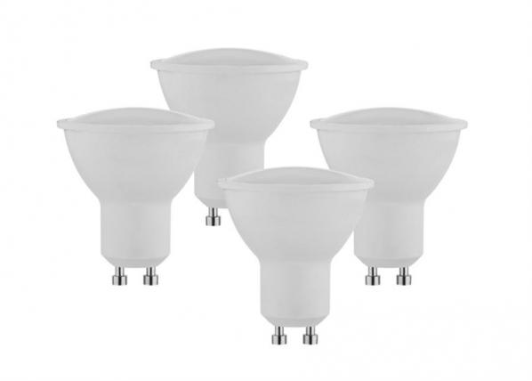 LED lamppu GU10 5 W 4 kpl