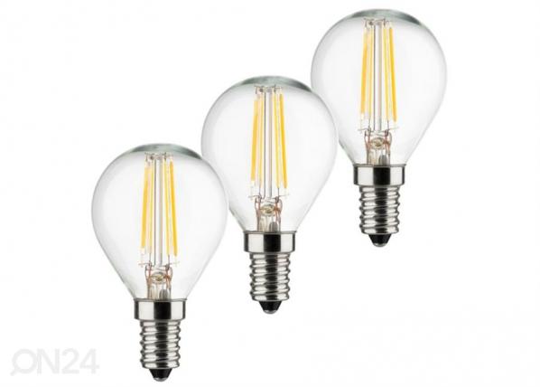 LED lamppu RETRO E14 4 W 3 kpl
