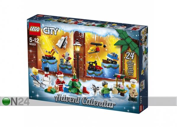 Joulukalenteri LEGO City