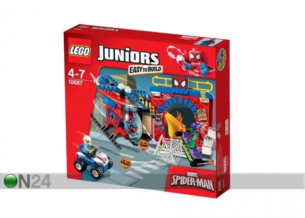 Spider Manin piilo LEGO JUNIOR