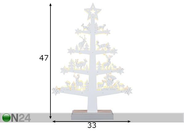 LED joulukoriste FAUNA