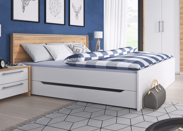 Sänky vuodevaatelaatikolla FORM 160x200 cm