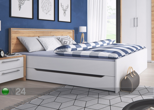 Sänky vuodevaatelaatikolla FORM 180x200 cm