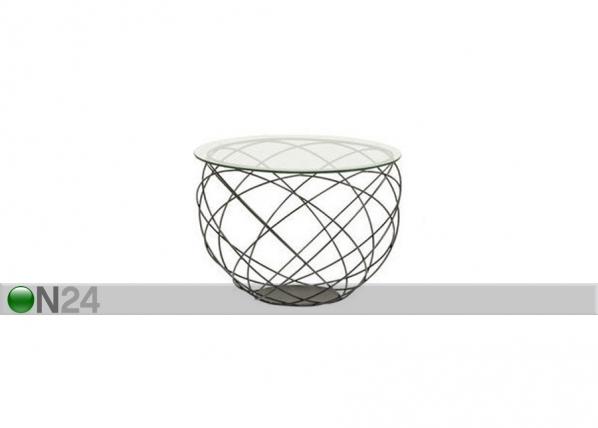 Apupöytä WIRE GRID Ø60xh43 cm