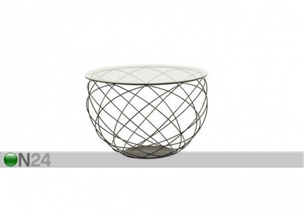 Sohvapöytä Wire Grid Ø70xh47 cm