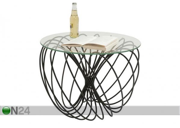 Apupöytä WIRE BALL Ø60xh45 cm
