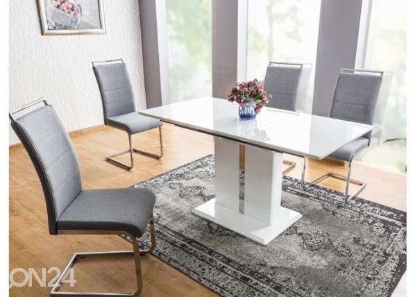 Jatkettava ruokapöytä DALLAS 110-150x75 cm