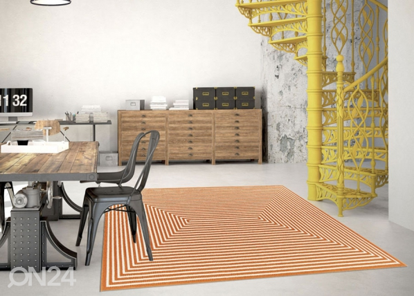 Matto Braid Orange 160x230 cm