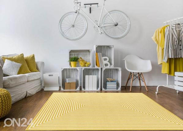 Matto Braid Yellow 133x190 cm