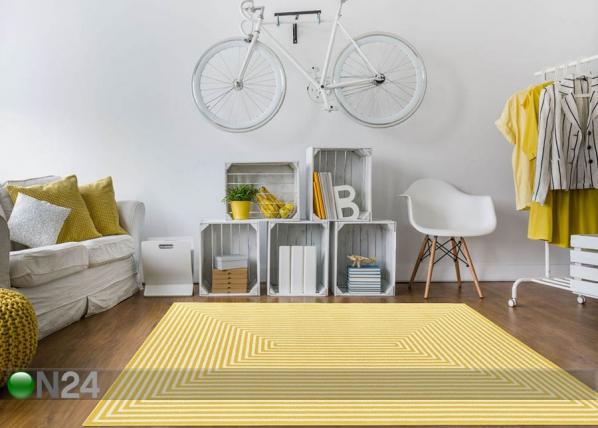 Matto Braid Yellow 200x285 cm