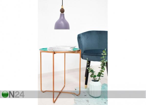 Apupöytä Ø 50,5 cm