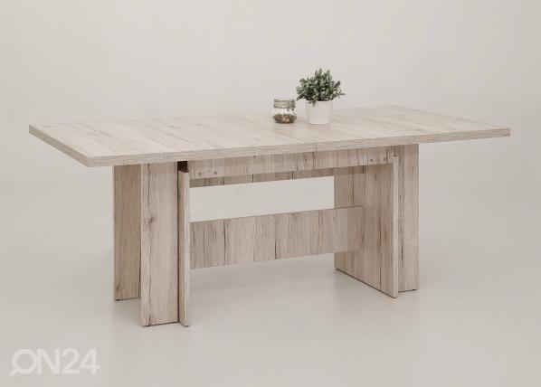 Jatkettava ruokapöytä Lia II 90x160-320 cm