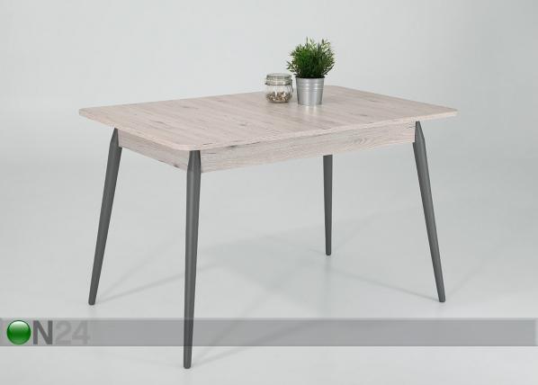 Jatkettava ruokapöytä Lore I 80x140-180 cm