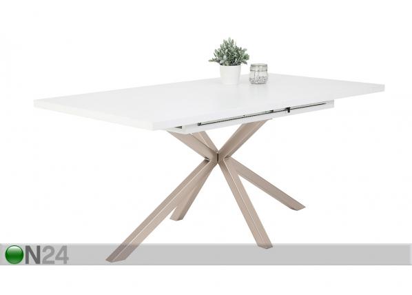 Jatkettava ruokapöytä Malou III 90x160-200 cm
