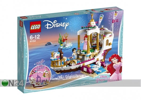 Arielin kuninkaallinen juhlalaiva LEGO Disney