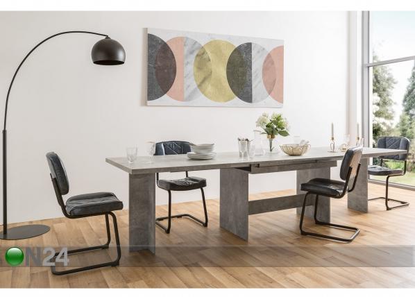 Jatkettava ruokapöytä 160-310x90 cm