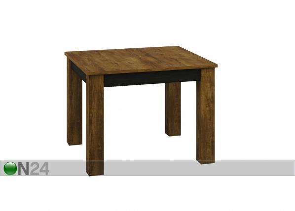Jatkettava ruokapöytä 89x101-181 cm