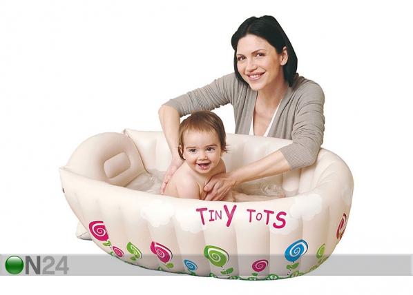 Puhallettava vauva-amme/uima-allas