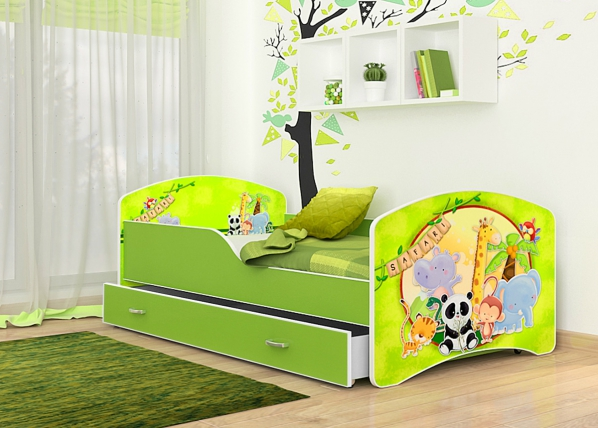 Lasten sänky Safari 80x160 cm